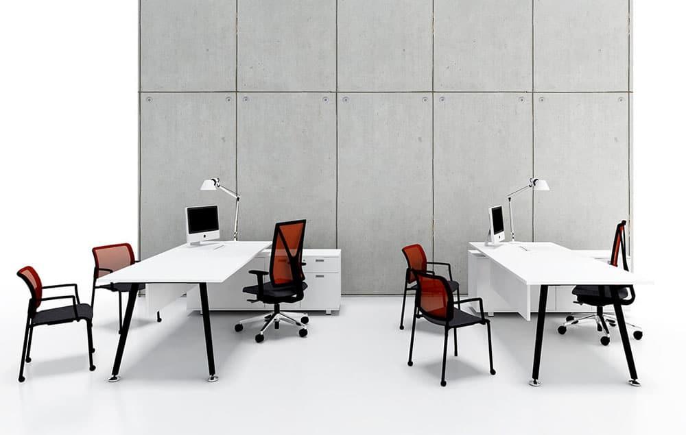 שולחנות מנהלים ועובדים דגם E-MOTION