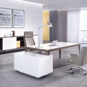 שולחנות מנהלים ועובדים דגם GRAND MORE