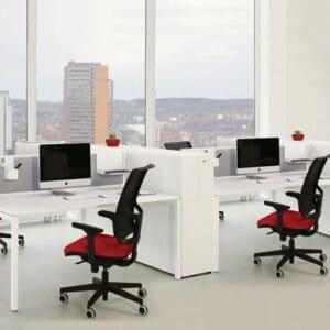 שולחנות מנהלים ועובדים דגם VANO U