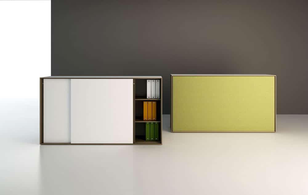 פתרונות אחסון למשרד מדגם METALBOX