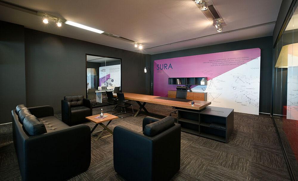 שולחנות מנהלים ועובדים דגם SURA